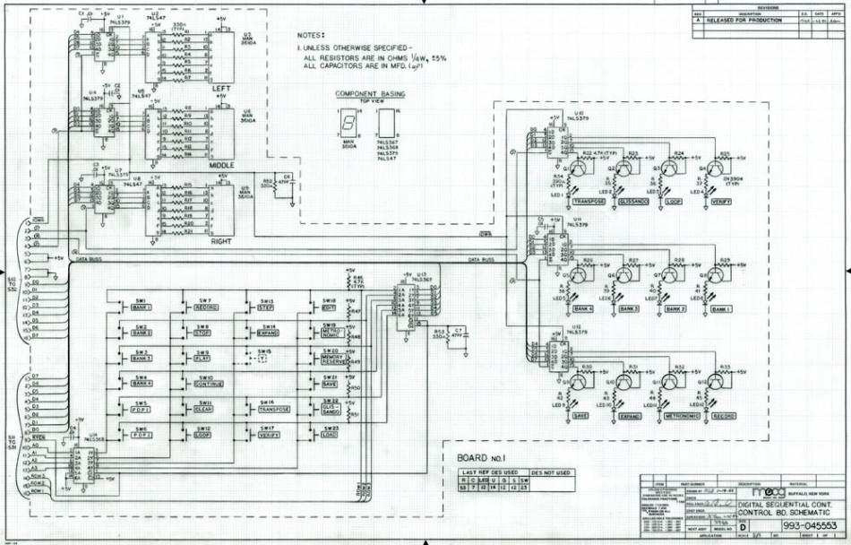 new discoveries from the bob moog foundation archives  more schematics  more history