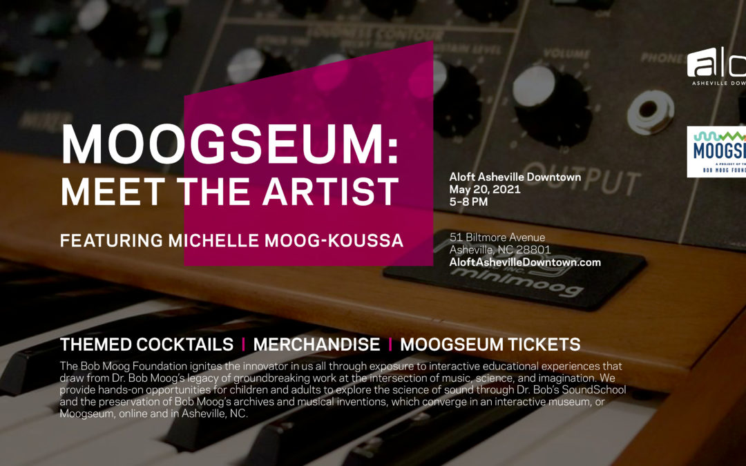 """The Moogseum and Aloft Hotel Launch Poster Art Exhibit and """"Meet The Artist"""" Event"""