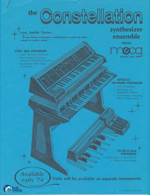 historical timeline of moog catalogs the bob moog foundation. Black Bedroom Furniture Sets. Home Design Ideas