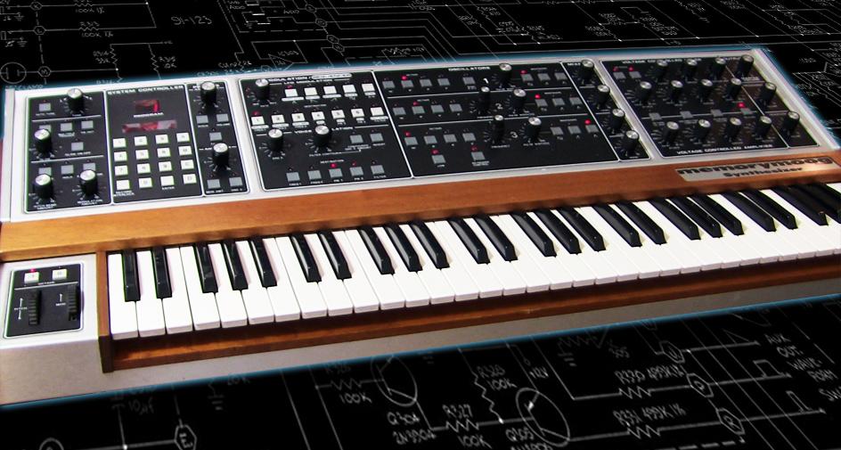 Announcing 2017 Summer Raffle for Vintage Memorymoog Plus Synthesizer!