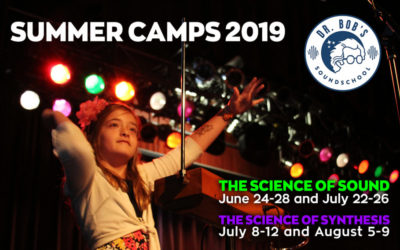 Bob Moog Foundation Science of Sound and Synthesis Summer Camps 2019