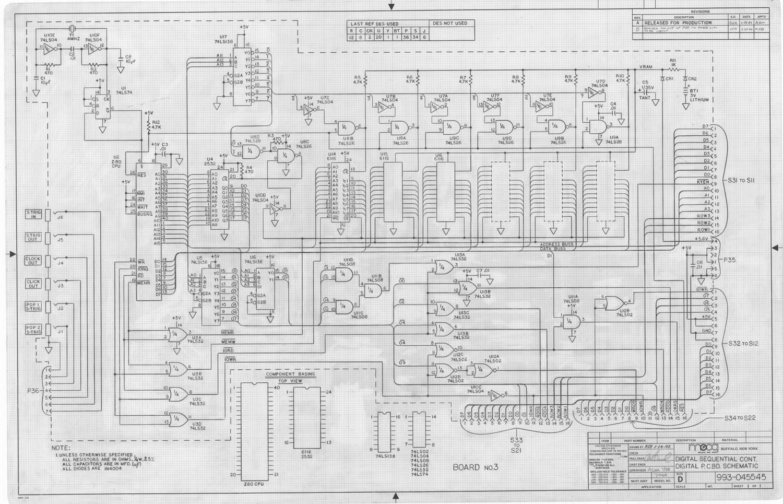 Bob Moog schematics: Release 1 for our 8th anniversary - The Bob ...