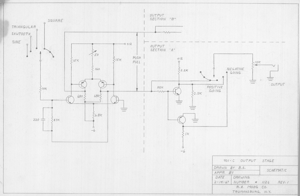 bob moog schematics  release 1 for our 8th anniversary