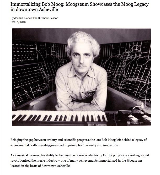 Moogseum showcases the legacy of Bob Moog