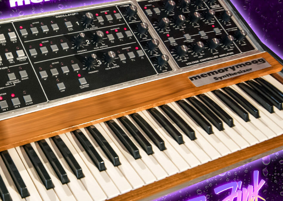 Announcing Our Fall 2019 Raffle for Vintage Memorymoog Plus Signed and Played by Dr. Fink of The Revolution