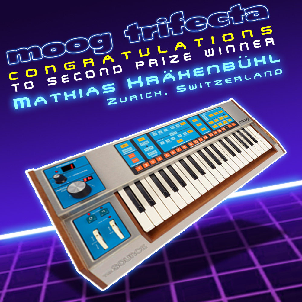 Announcing 2018 Moog Trifecta Raffle: Memorymoog, Source