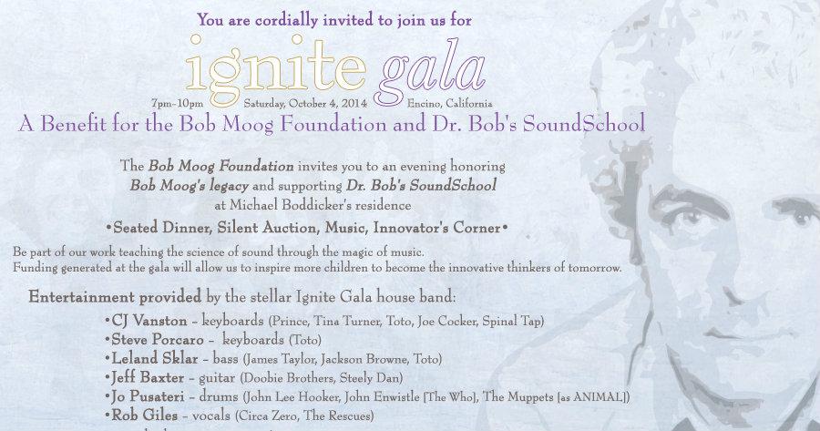 Bob Moog Foundation Ignite Gala 2014
