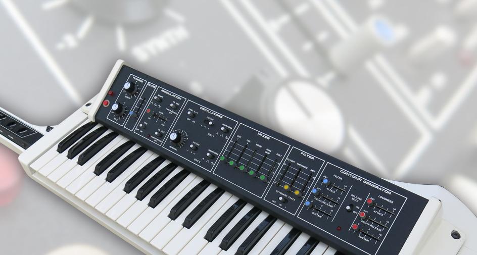 Vintage Moog: Liberation synthesizer spring 2015 raffle!