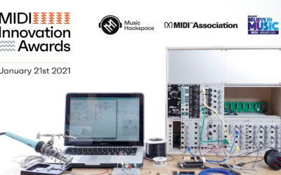 The Bob Moog Foundation Joins Music Hackspace, the MIDI Association, and NAMM for the MIDI Innovation Awards