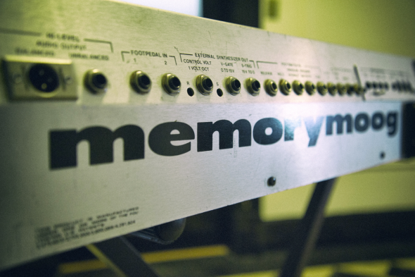Memorymoog Back Panel