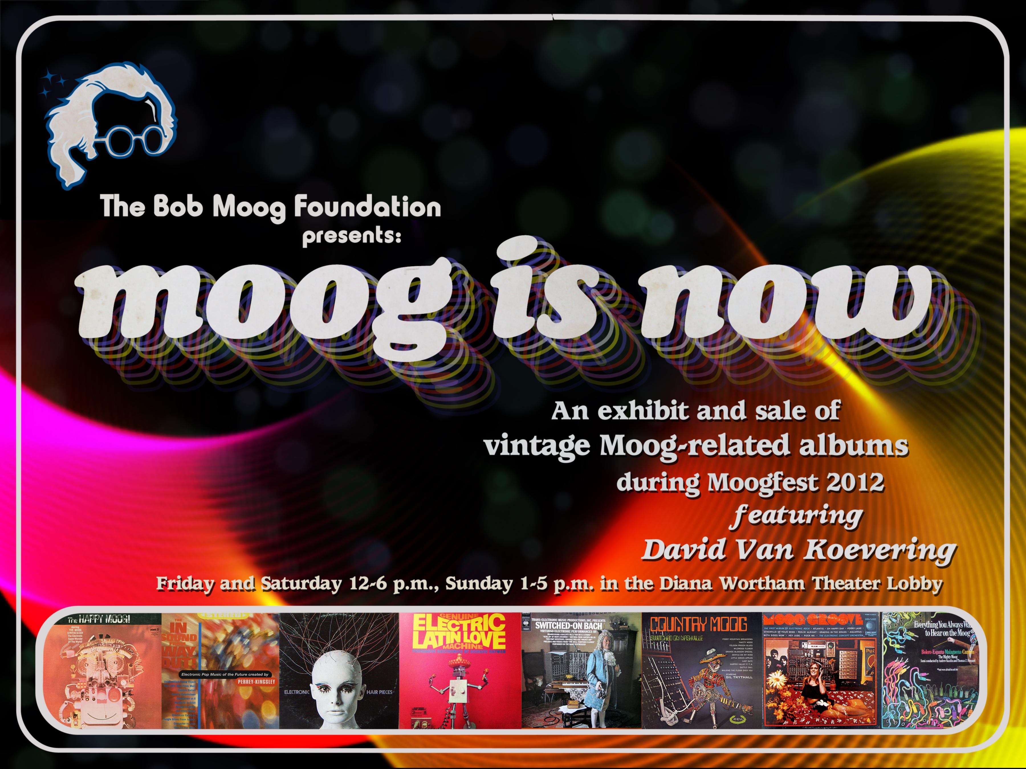 Moog is Now: Album Art Brings History Alive at Moogfest 2012