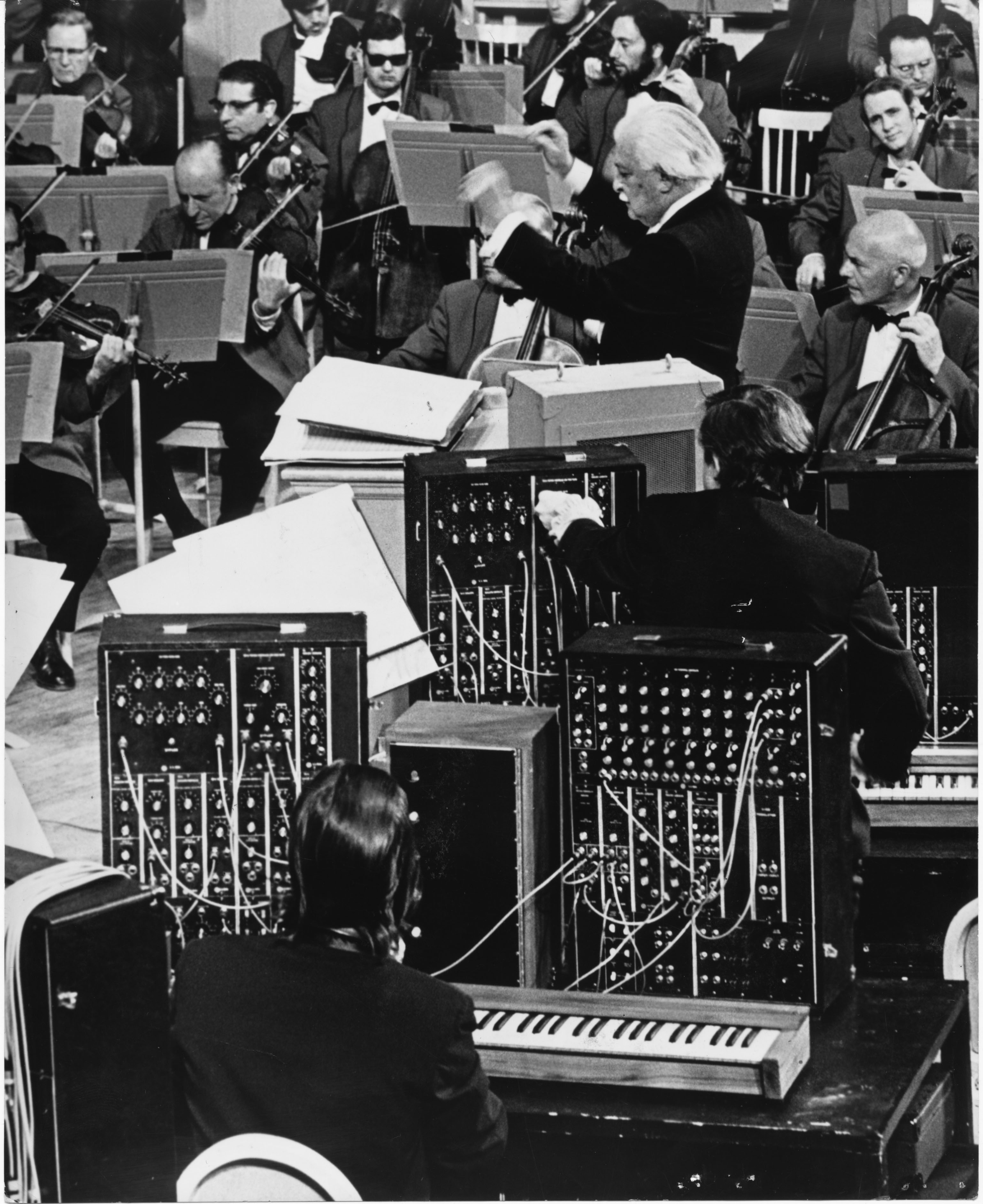 Photo courtesy of the Bob Moog Foundation Archives