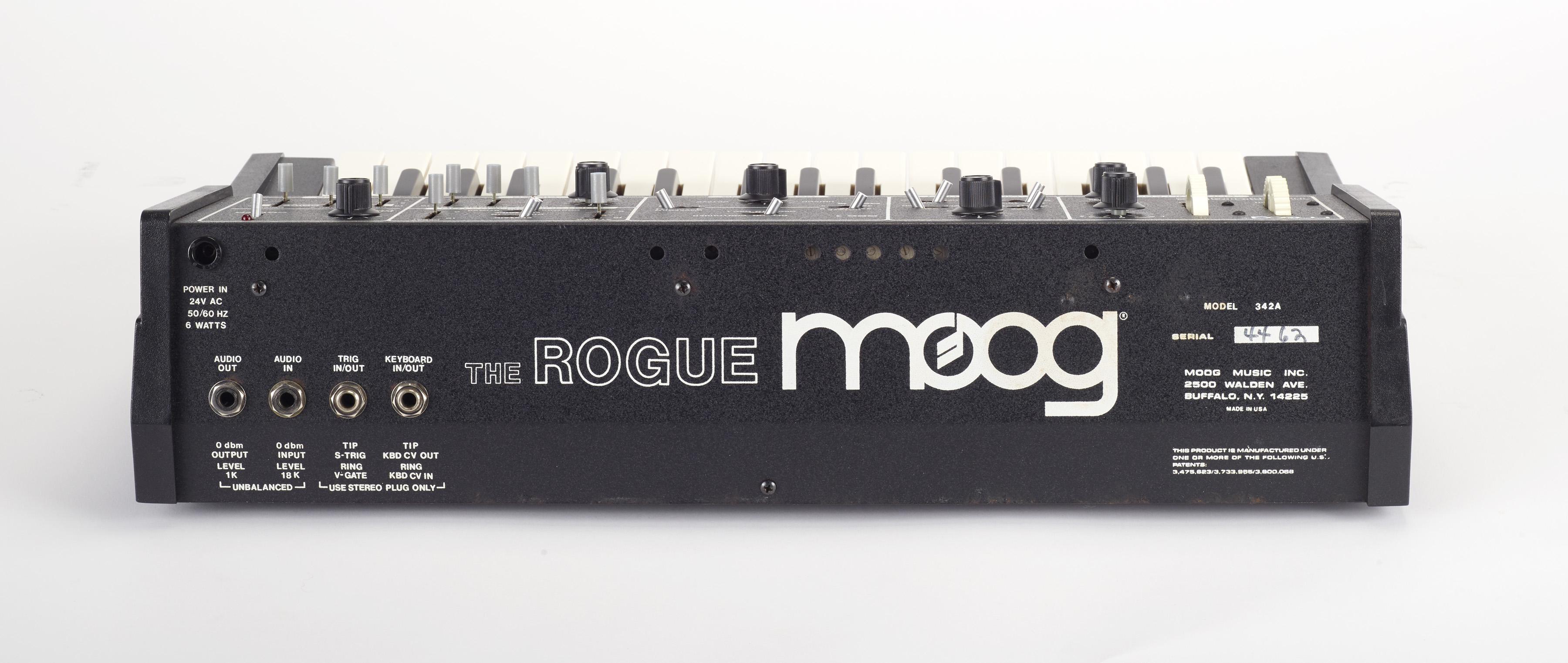 2018 Moog Trifecta Raffle_Moog Rogue Back - The Bob Moog Foundation
