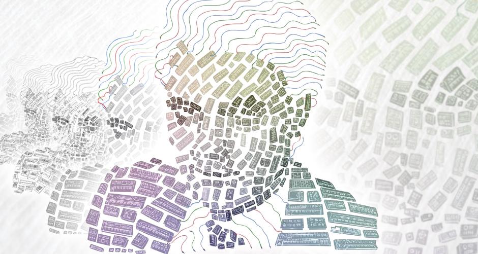 The Making of Moogsaic: David Lovelace's Creative Process Behind an Astoundingly Detailed Design