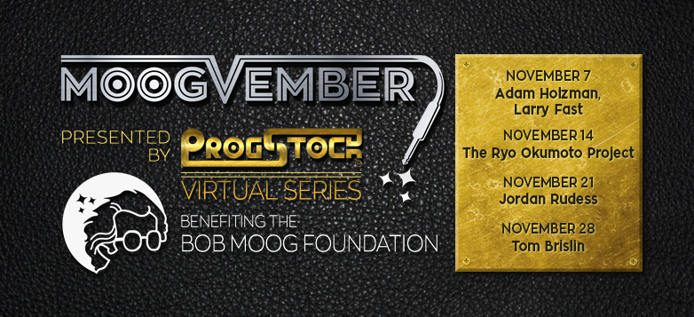 ProgStock Announces Moogvember: To Benefit the Bob Moog Foundation