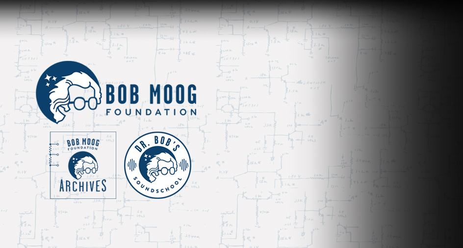 Announcing Three New Bob Moog Foundation Logos