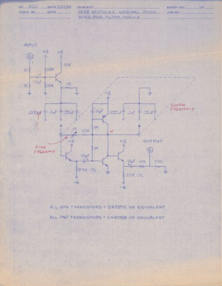Original Band Pass Filter