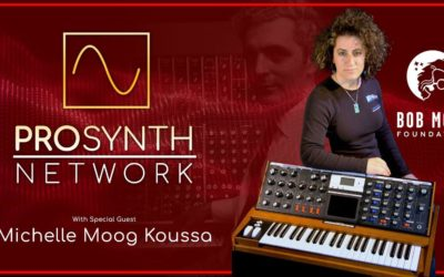 Pro Synth Network LIVE | Episode 47 with Special Guest Michelle Moog-Koussa