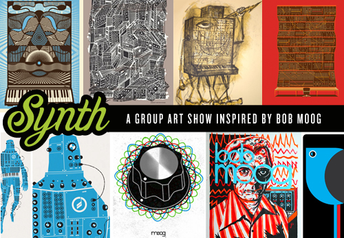 Moog-Inspired Art: SYNTH Art Show To Dazzle Moogfest 2012