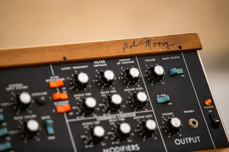 Bob Moog signature