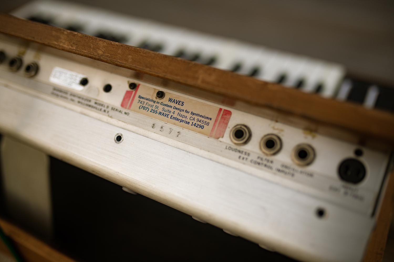 Minimoog Model D serial number