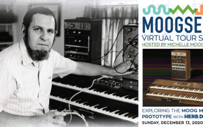 Virtual Moogseum Tour Focusing on The Moog Modular Prototype with Herb Deutsch