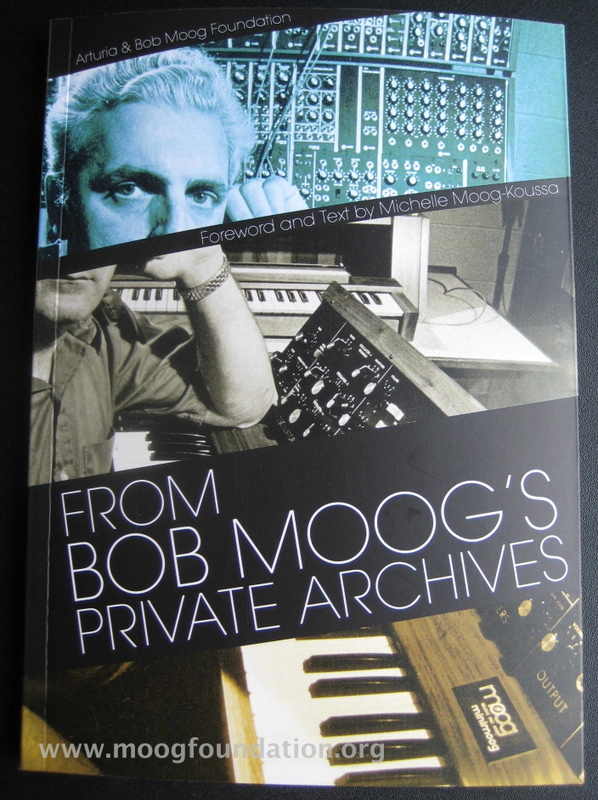 From Bob Moog's Private Archives: highlights and signing in