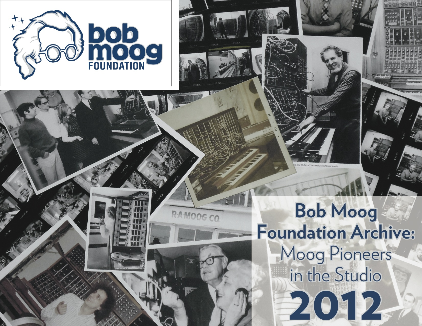 "2012 Calendar: ""Moog Pioneers in the Studio"""