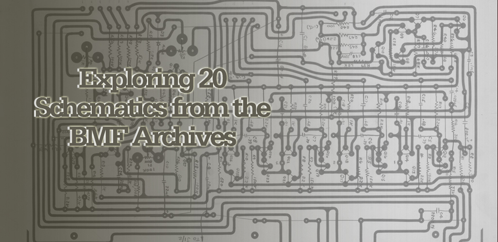 Bob Moog Schematics - The Bob Moog Foundation