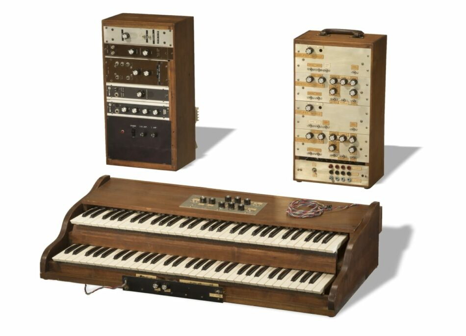 The Moog Modular Prototype, photos courtesy of The Henry Ford